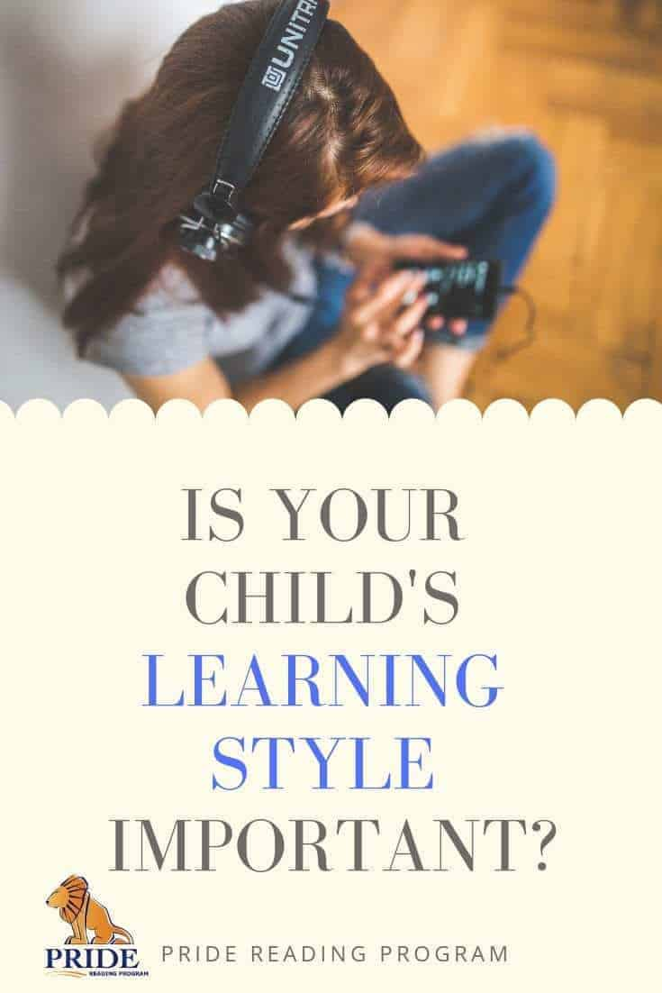 Is your child\'s learning style important?  Dr. Abbe Barron is a child psychologist in Los Angeles, and on this post she discusses the importance of learning styles in children - because we all learn differently and it is so important for schools, teachers and parents to learn about this.