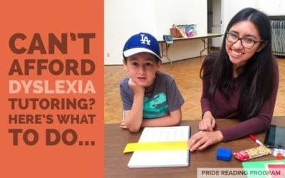 Can't Afford Dyslexia Tutoring? Here Is What You Do…