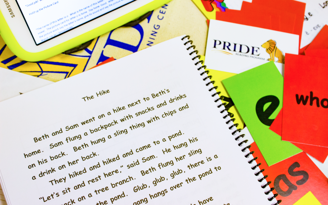 Reading Comprehension and The PRIDE Reading Program