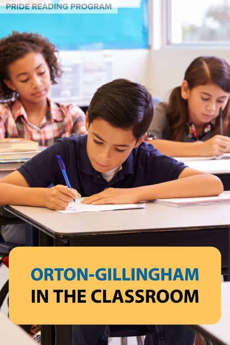 Orton-Gillingham in the Classroom.  Want to know how to implement this into your classroom or school district?  Here is how you do it.