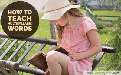 Multisyllabic Words – How to Teach Them