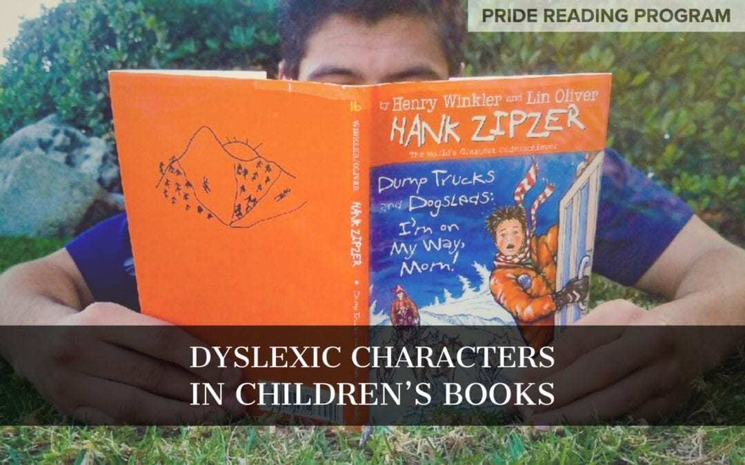 Dyslexic Characters in Children's Books