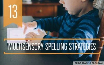 13 Multisensory Spelling Strategies