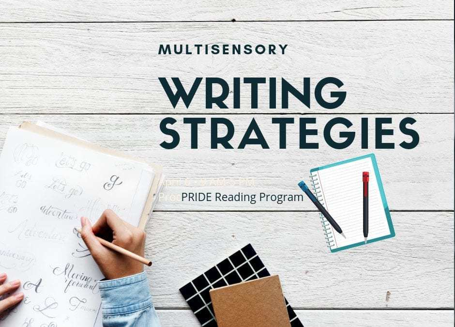 Multisensory Writing Strategies for Kids