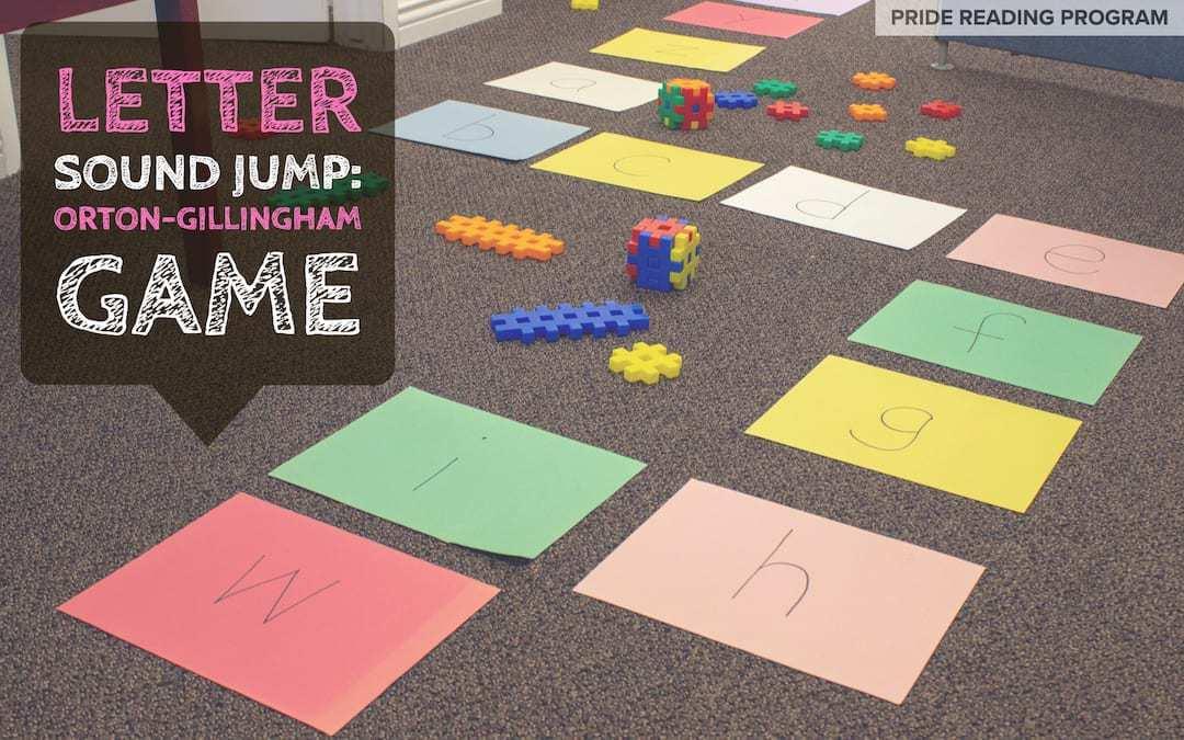 Letter Sound Jump: An Orton-Gillingham Game