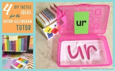 4 DIY Tactile Ideas for the Orton-Gillingham Tutor