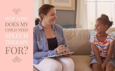 How Long Does My Child Need Speech Therapy For?