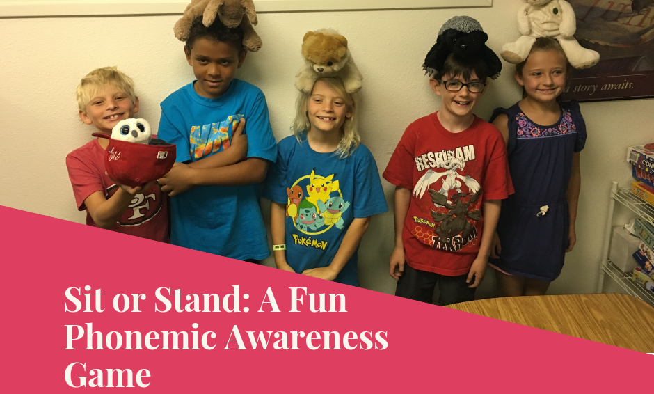 Sit or Stand: A Phonemic Awareness Game