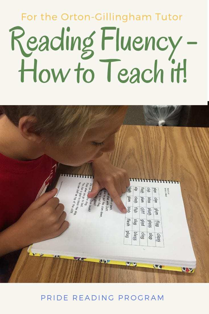Reading Fluency - How to Teach it.  Here are some strategies and tips that will help you teach your child reading fluency.  #teaching #reading #fluency