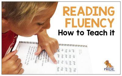 Reading Fluency – How to Teach it