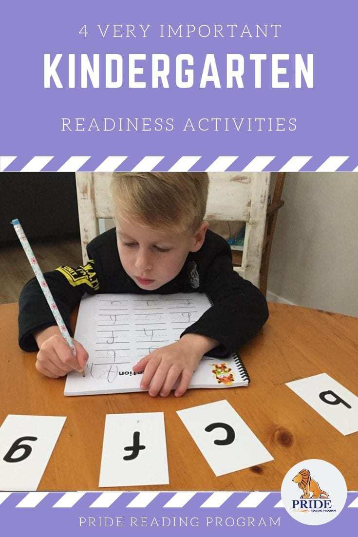 4 very important Kindergarten readiness activities that will help your child become a strong reader. These activities are research proven to help kids reach their benchmarks in Kindergarten and also build strong rhyme, phonological awareness and language skills. #kindergarten #readiness #activities #kids #teach #reading #education