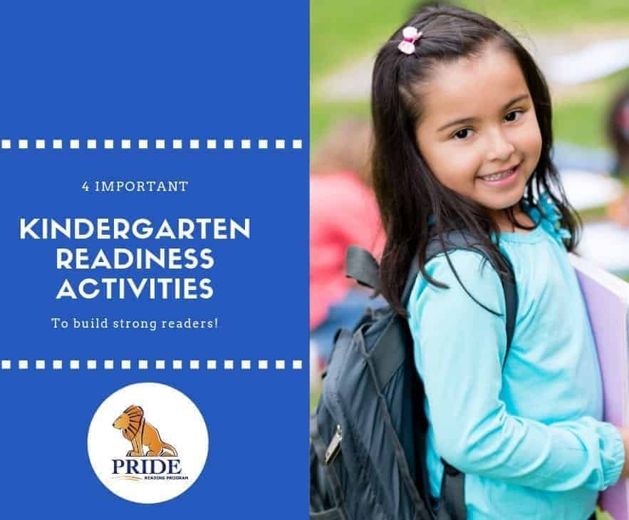 4 Kindergarten Readiness Activities