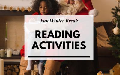 Fun Winter Break Reading Activities