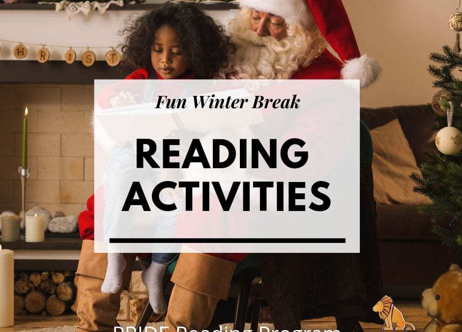 Fun Winter Break Reading Activities