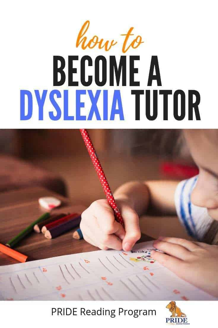How to become a Dyslexia Tutor and run a successful tutoring business.  Here is the process for you step by step.  Happy tutoring!