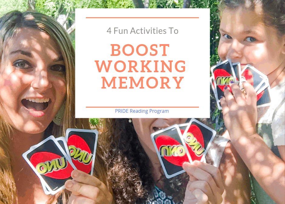 4 Fun Activities to Boost Working Memory Skills