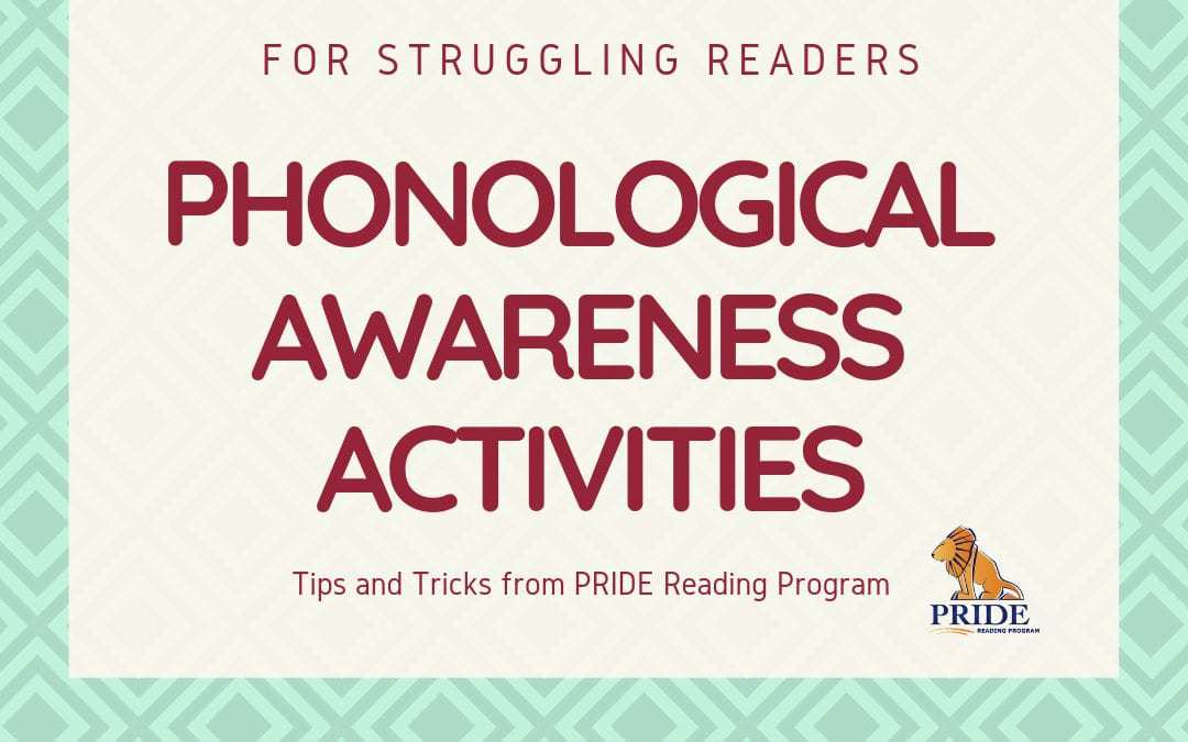 Phonological Awareness Activities