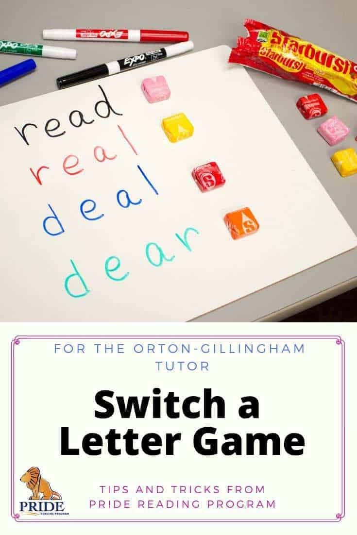 For the Orton-Gillingham tutor, here is a fun letter game that you can use in your Orton-Gillingham lessons and it only takes 5 minutes.  #lettergame #ortongillingham #tutor #tutorgame