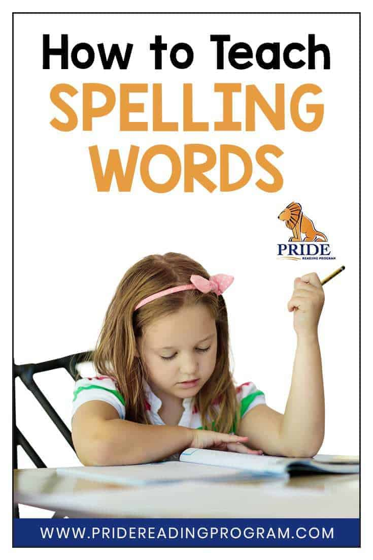 Teaching spelling requires structure and logic and practice activities so that kids remember the words.  Here are some tips and strategies on how to teach spelling words effectively.  #spelling #ortongillingham #literacy #multisensory #activities
