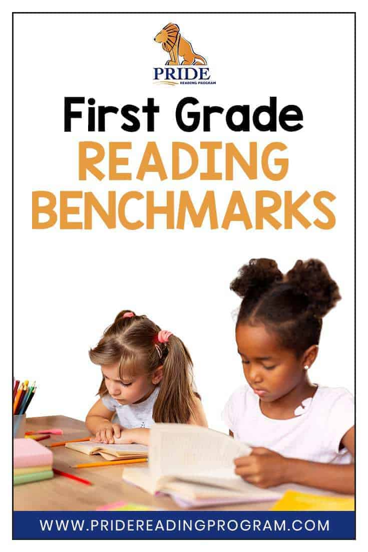 Here are some really important first grade reading benchmarks that will help you determine if your child is on the right path to second grade reading. #firstgrade #secondgrade #phonics #school #kids #parenting #homeschool #teacher #readingcomprehension #homeschool