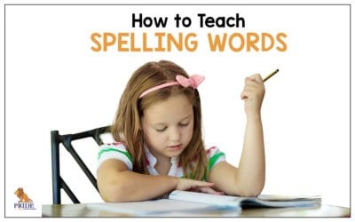 How to Teach Spelling Words