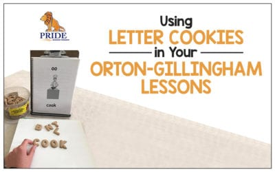 Using Letter Cookies in Your Orton-Gillingham Lessons