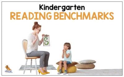 Kindergarten Reading Benchmarks