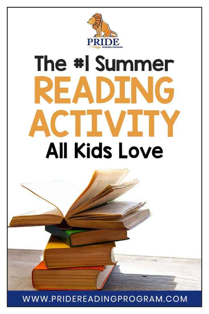 Are you looking for a fun way to sneak in some summer reading with your kids?  Here is the #1 favorite summer reading activity that all kids love to do.  #summer #kids #parents #homeschool #summerlearning #reading