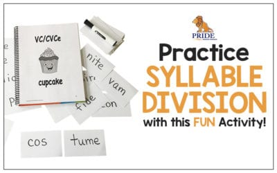 Practice Syllable Division with this FUN Activity!
