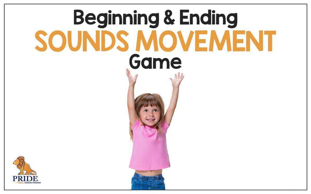 Beginning and Ending Sounds Movement Game
