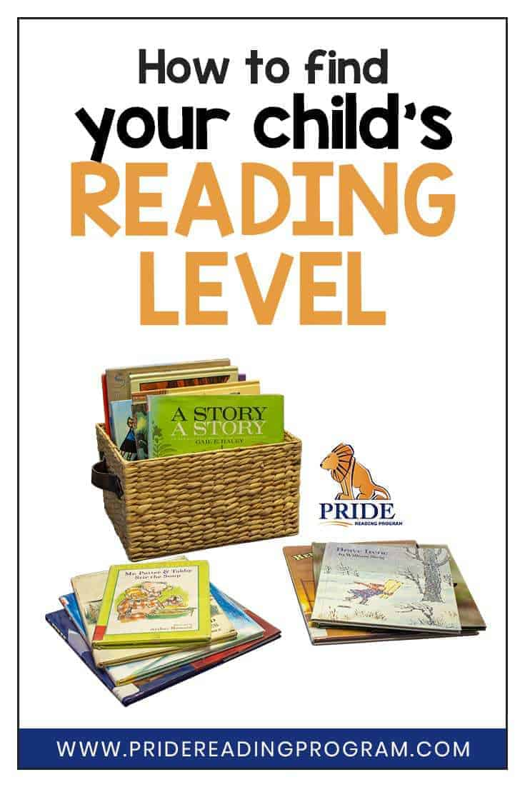 Find your child\'s reading level with this quick and easy strategy to help improve your child\'s reading fluency and reading comprehension skills. #readinglevel #teachreading #teacher #parents #kindergarten #firstgrade #secondgrade