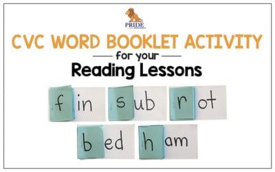 CVC Word Booklet Activity