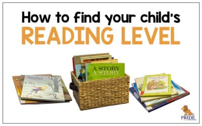 How to find your Child's Reading Level