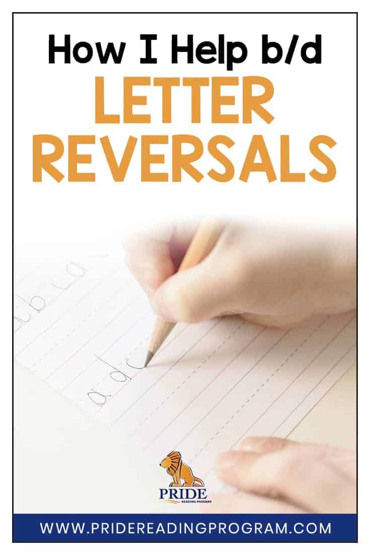 This is my trick for helping with b/d letter reversal and it works every time! #teach #kindergarten #dyslexia #dysgraphia #firstgrade #homeschool #reversals #alphabet #sped #ortongillingham #letters
