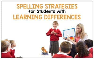 Spelling Strategies for Learning Differences