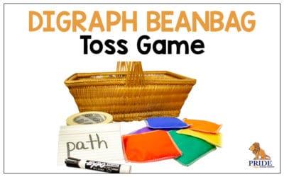 Digraph Beanbag Toss Game