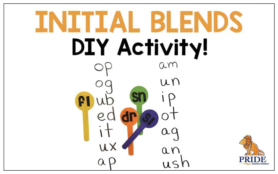 Initial Blends DIY Activity