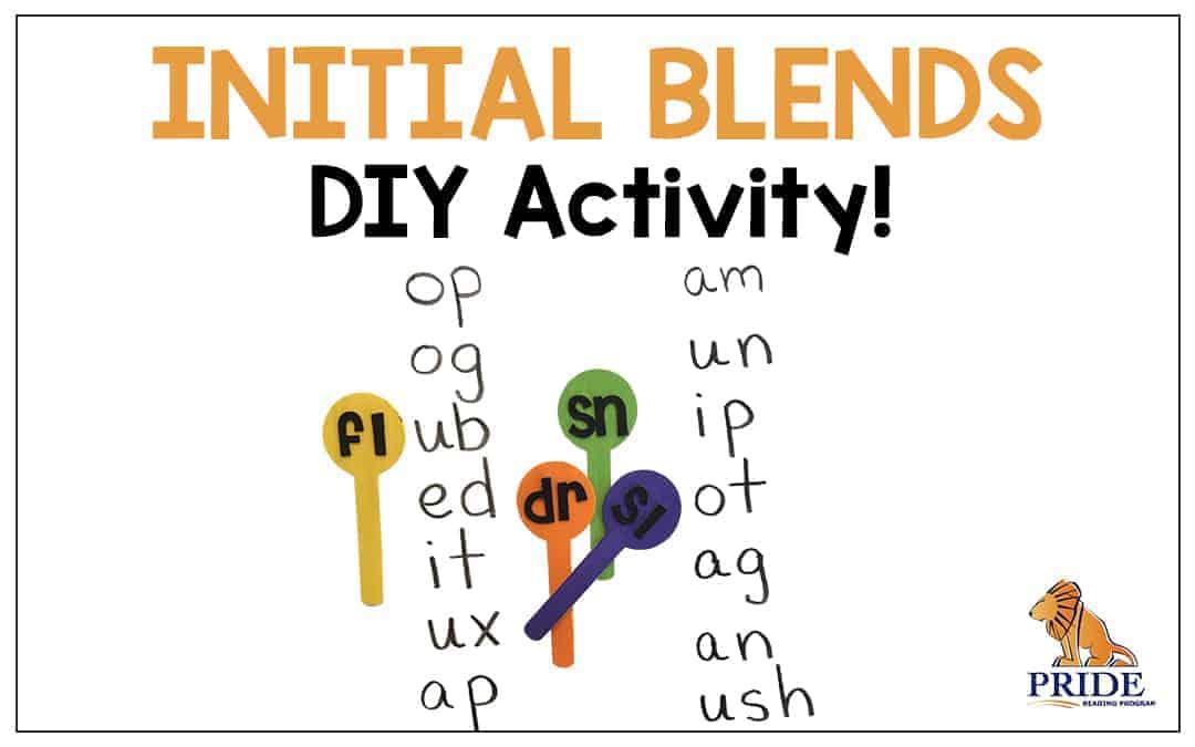 Initial Blends DIY Activity