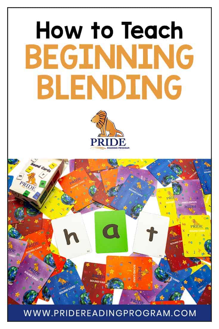 After your child has mastered the alphabet, the next step in reading is beginning blending. Teach your child beginning blending with these tips and strategies.  #teacher #reading #homeschool #phonics #alphabet #letters #sounds #kindergarten #preschool
