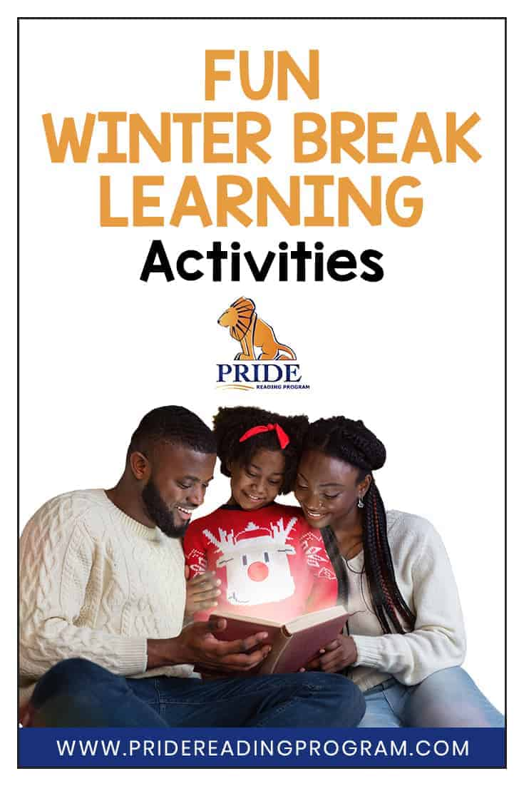 Here are some ideas on how to keep your kids active and engaged with some fun winter break learning activities.  #winter #fun #learning #activities #homeschool #parents