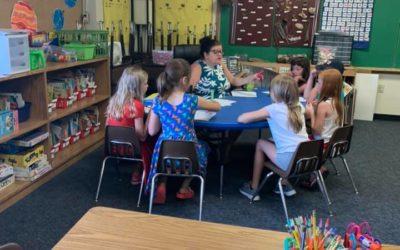 St. Peter Catholic School in Slinger Wisconsin and PRIDE Reading Program