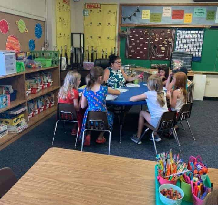 St. Peter Catholic School in Slinger Wisconsin and PRIDE Reading Program