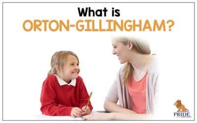 What is Orton-Gillingham?