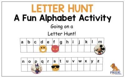 Letter Hunt: A Fun Alphabet Activity