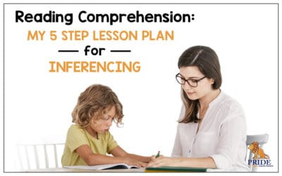 Reading Comprehension: My 5 Step Lesson Plan for Inferencing