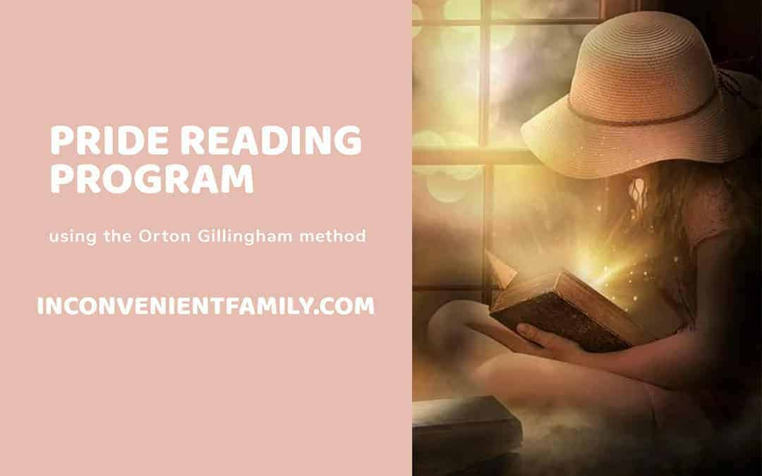 Our Inconvenient Family Reviews the PRIDE Reading Program