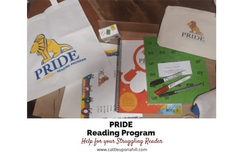 Cattle Upon a Hill Reviews the PRIDE Reading Program