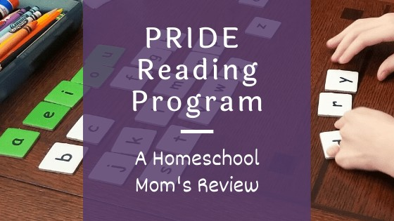 Entirely at Home Reviews the PRIDE Reading Program