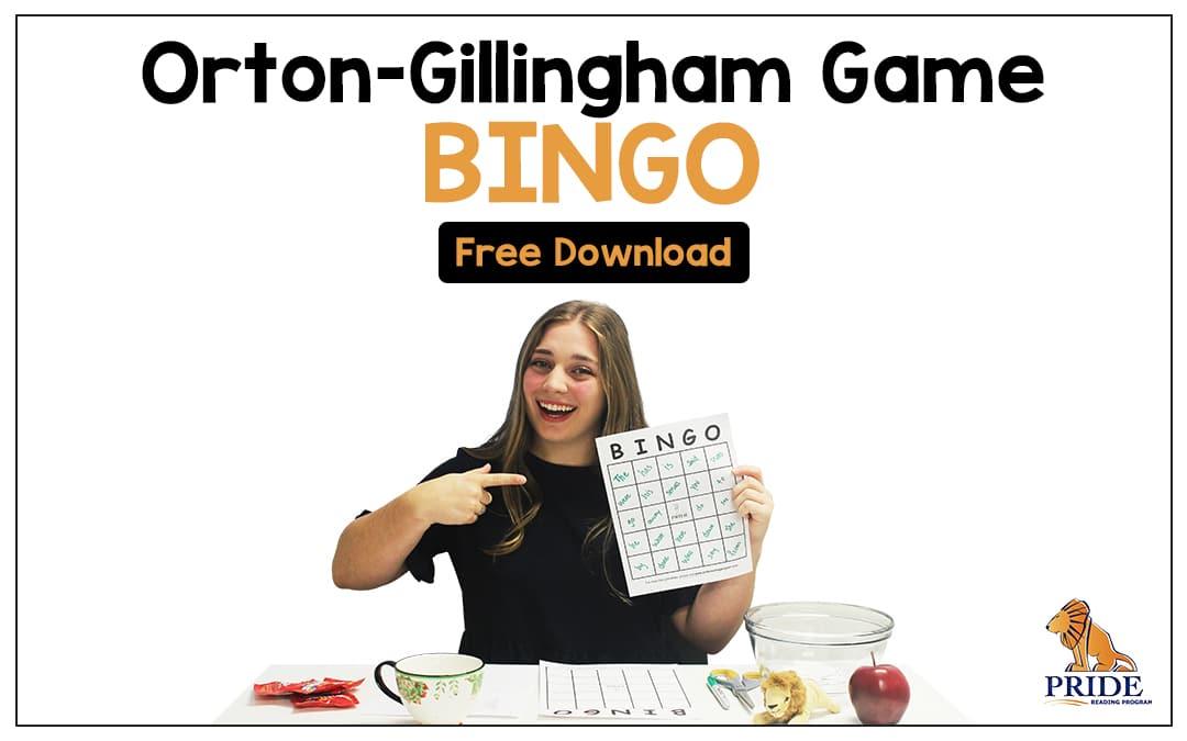 Orton-Gillingham Game