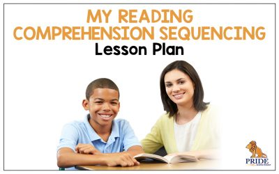 My Reading Comprehension Sequencing Lesson Plan